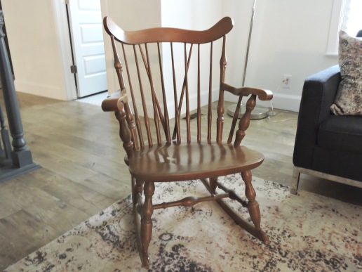 WithinWalls.com Mid-Century Rocking Chair